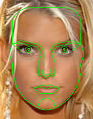 Marquardt Beauty Mask applied on Jessica Simpson
